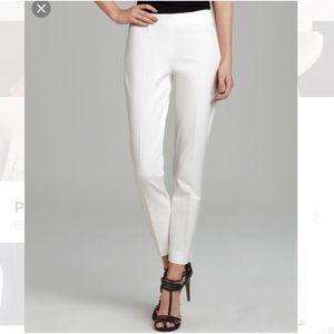 NWT Theory Belisa White Pants Size 2 Insane deal!